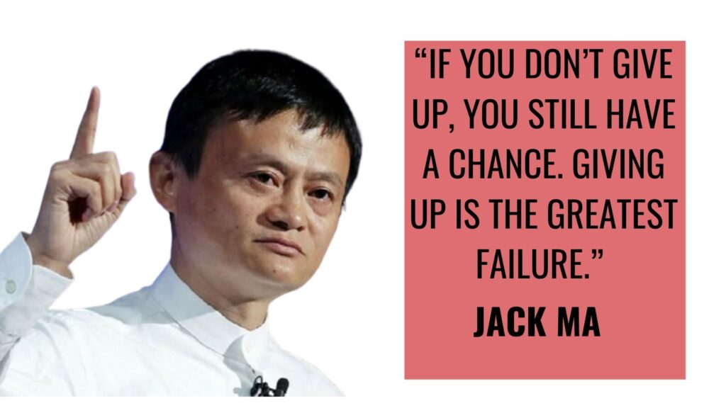 Motivational Quotes 12 Jack MA
