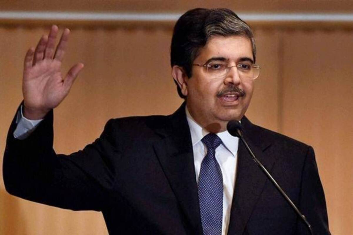 Uday Kotak had sold 56 million shares he owned in the bank for at least Rs 6,913.75 crore through a block deal to reduce his stake to 26%.  —Make office